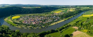 Luftbild Binau am Neckar